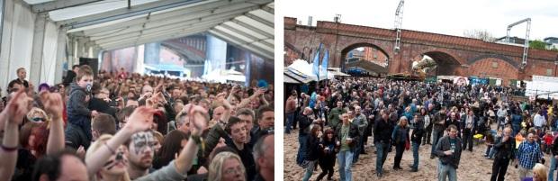Mockfest crowds
